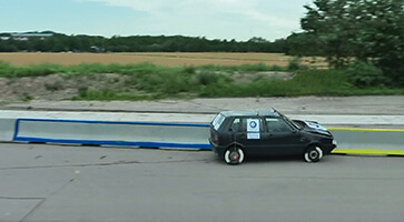 Forschung Crash-Test